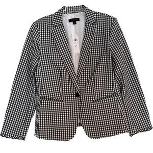 NWT ANN TAYLOR Blazer With Ruffled Cuffs